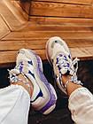 Кроссовки женские Balenciaga Triple S white purple бело-фиолетовые 39 разм, фото 5