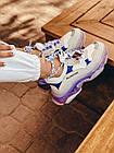 Кроссовки женские Balenciaga Triple S white purple бело-фиолетовые 39 разм, фото 7