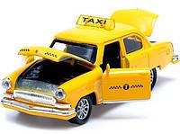 Машинка Металева Волга ГАЗ-21 Таксі, фото 1