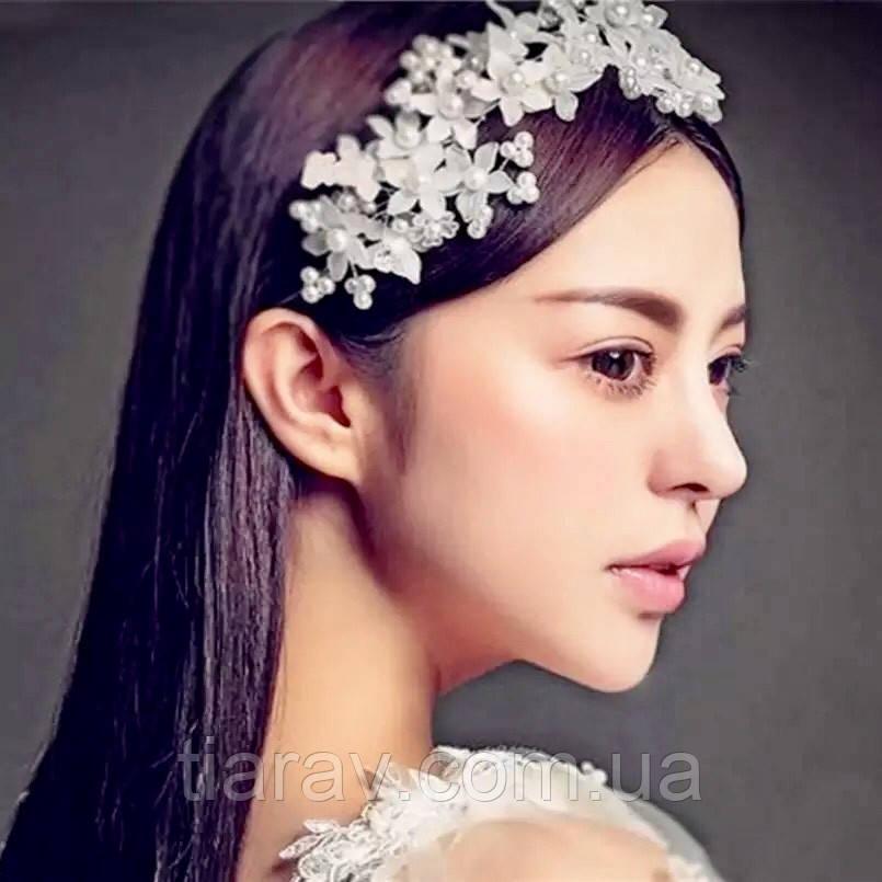 Весільна прикраса для волосся, весільна гілочка для волосся , тіара