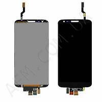 Дисплей (LCD) LG D800 G2/  D801/  D803/  LS980/  VS980 с сенсором черный оригинал