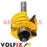 Комбінована рамкова фреза VOLFIX FZ-120-991 d12 для меблевої обв'язки, фото 5