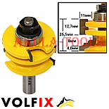Комбінована рамкова фреза VOLFIX FZ-120-991 d12 для меблевої обв'язки, фото 4