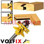 Комбінована рамкова фреза VOLFIX FZ-120-991 d12 для меблевої обв'язки, фото 2