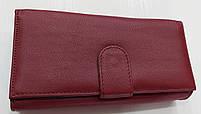Женский кожаный кошелек с визитницей Balisa 149-581 бордовый Кожаные кошельки оптом Одесса 7 км, фото 2