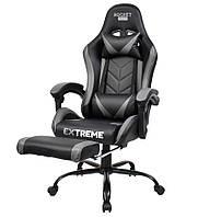 Игровые кресла (геймерские) Extreme ROCKET сіре Кресло геймерское Компьютерное кресло Стул Крісло офісне спорт