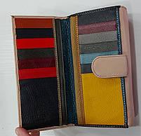 Жіночий шкіряний гаманець Balisa PY-A149 пудра Жіночі шкіряні гаманці БАЛІСА оптом Одеса 7 км, фото 5