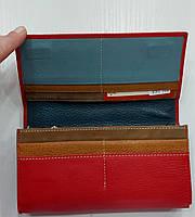 Женский кожаный кошелек с визитницей Balisa 149-581 красный Кожаные кошельки оптом Одесса 7 км, фото 2