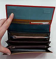 Женский кожаный кошелек с визитницей Balisa 149-581 красный Кожаные кошельки оптом Одесса 7 км, фото 3