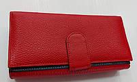 Женский кожаный кошелек с визитницей Balisa 149-581 красный Кожаные кошельки оптом Одесса 7 км, фото 4