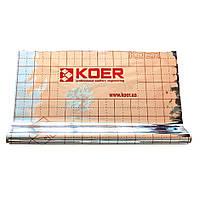 Пленка фольгированная с разметкой KOER 50 м2 (50 мкр)