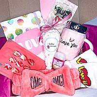 """Подарочный набор для девушки девочки Wow Boxes """"Love box №1"""""""