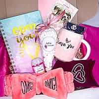 "Подарочный бокс для девочки девушки WowBoxes ""Love Box №3"""
