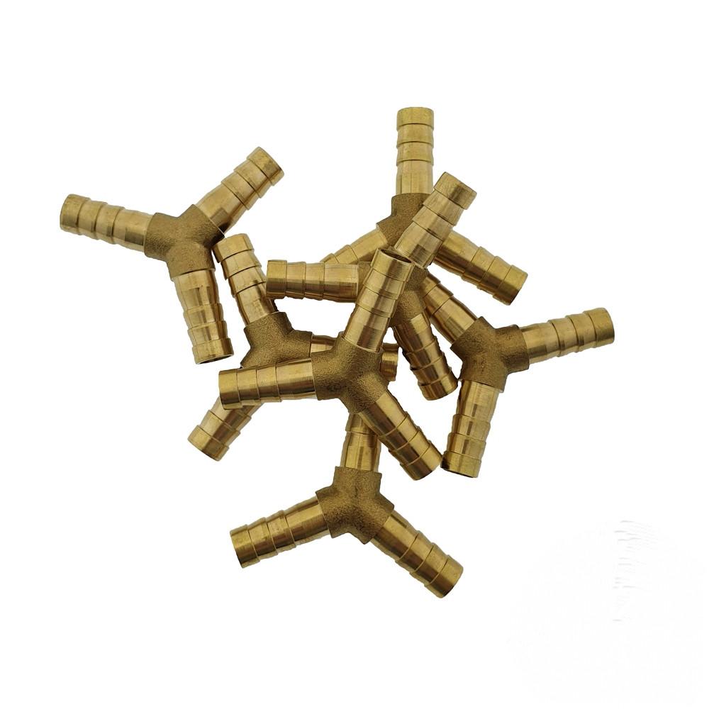 Тройник латунный 6 мм. Y-образный