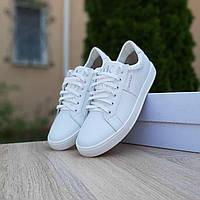 Мужские кроссовки в стиле Calvin Klein Белые