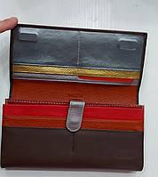 Женский кожаный кошелек Balisa 149-585 коричневый Женские кожаные кошельки БАЛИСА оптом Одесса 7 км, фото 3