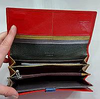 Женский кожаный кошелек Balisa 149-585 красный Женские кожаные кошельки БАЛИСА оптом Одесса 7 км, фото 3
