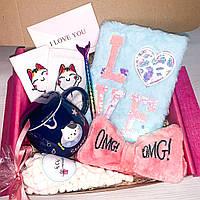 "Подарочный бокс для девочки девушки WOW BOXES ""Cat Box #5"""