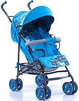 Коляска трость Geoby D208R-R4TB голубая