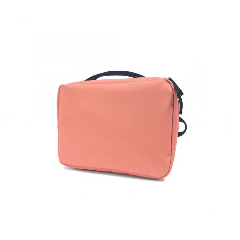 EKOBO - Сумка для ланча Go RePet Lunch Bag, цвет коралловый/темно-серый