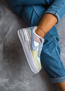 Женские кроссовки Nike Air Force Shadow MULTICOLOR