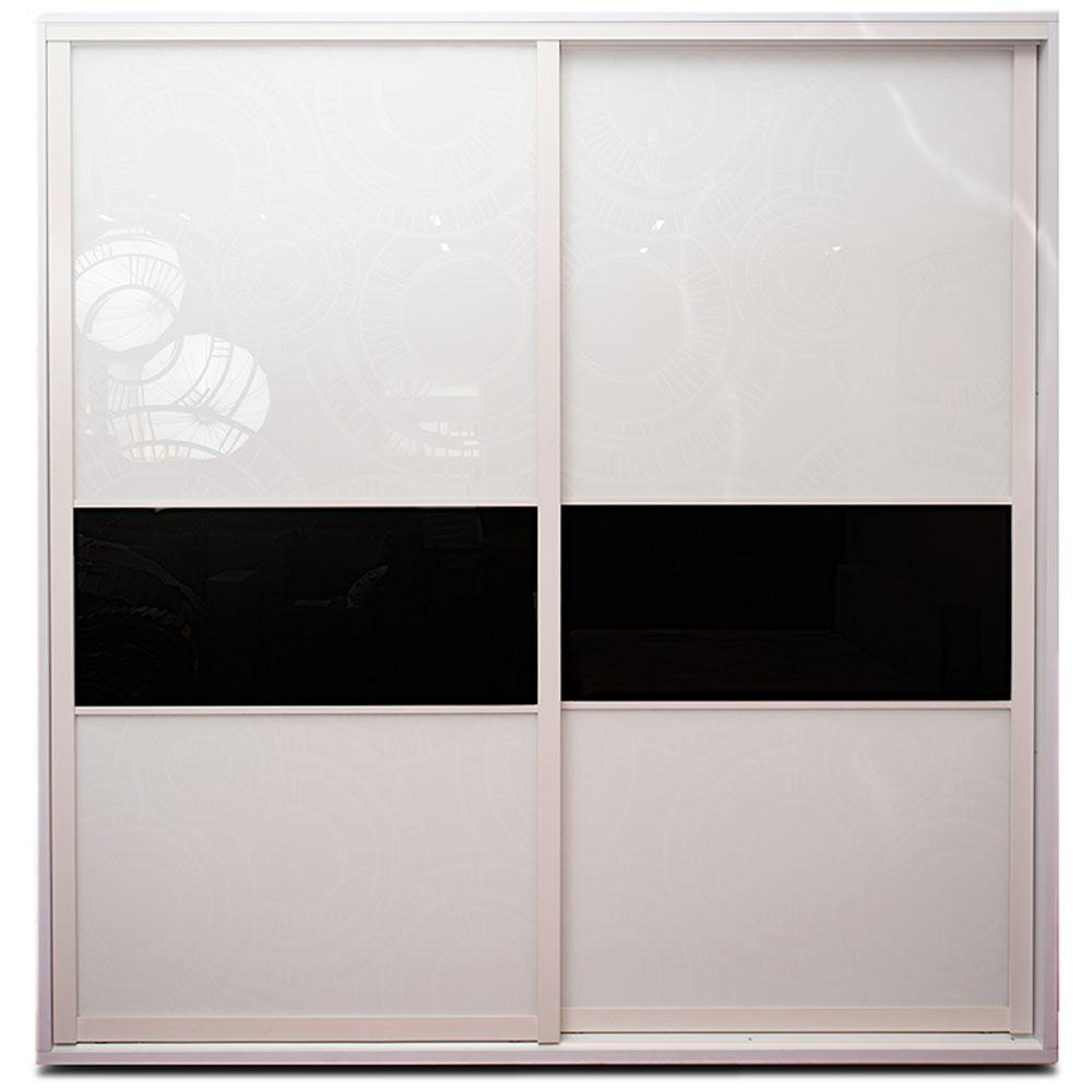 Шкаф-купе Белый квадро 2300*2400*600