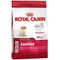 Royal Canin MEDIUM JUNIOR (Роял канин МЕДИУМ ЮНИОР) корм для щенков в возрасте от 2 до 12 мес 15 кг.