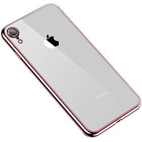"""Прозрачный силиконовый чехол с глянцевой окантовкой Full Camera для Apple iPhone XR (6.1"""")"""