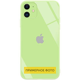"TPU+Glass чехол GLOSSY Logo (opp) для Apple iPhone 7 plus / 8 plus (5.5"")"