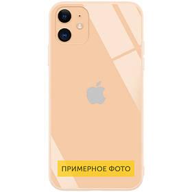 "TPU+Glass чехол GLOSSY Logo Full camera (opp) для Apple iPhone 6/6s plus (5.5"")"