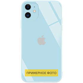 "TPU+Glass чехол GLOSSY Logo Full camera (opp) для Apple iPhone XR (6.1"")"