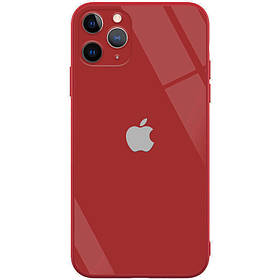 "TPU+Glass чехол GLOSSY Logo Full camera (opp) для Apple iPhone 7 / 8 / SE (2020) (4.7"")"