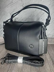 Стильная женская сумка, искусственная кожа, один отдел, плечевой ремень