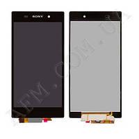 Дисплей (LCD) Sony C6902 L39h Xperia Z1 (6903/  6906/  6943) с сенсором черный