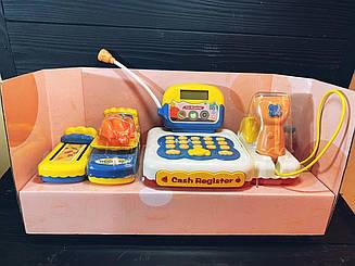 Детский Кассовый аппарат 901E с набором