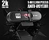 Веб камера 8МП. с микрофоном и штативом 1080 FullHD, фото 3