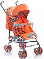 Коляска трость Geoby D208R-R4TO оранжевая