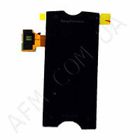 Дисплей (LCD) Sony ST18i Xperia RAY с сенсором чёрный
