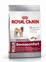 Royal Canin (Роял Канин) Medium Dermacomfort Корм для собак с чувствительной кожей 10 кг.