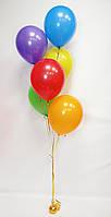 """Готовый набор шаров с гелием №17 """"Для нежной, смелой и активной красотки"""""""
