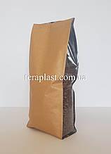 Стабило 1кг Крафт+металл+прозрачные боковые закладки 150х375х40 без зип