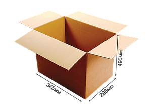Картонная коробка (гофроящик) 365х295х490 (13кг)