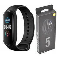 Фитнес браслет М5, Смарт Часы М5, Часы с пульсометром, Фитнес часы, Фитнес трекер, Умные часы, Умный браслет