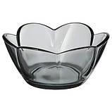 Стильный настольный стеклянный подсвечник Цветок для чайных свечей, фото 2