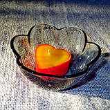 Стильный настольный стеклянный подсвечник Цветок для чайных свечей, фото 8