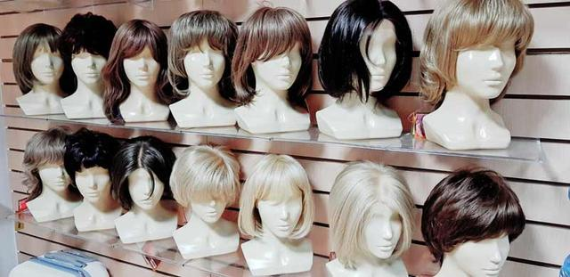 Парики, шиньоны, волосы для наращивания