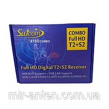 Satcom 4180 Combo HD DVB-S2/T2 + навчаний пульт
