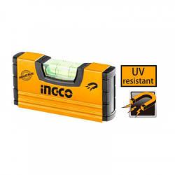 Мини уровень с магнитом 100 мм INGCO HMSL03101 INDUSTRIAL