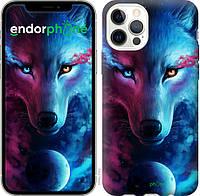 Чехол на Apple iPhone 12 Арт-волк