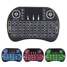 Клавіатура i8 Air Mouse з тачпадом і АКБ